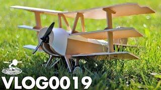 getlinkyoutube.com-NEW DIY TRIPLANE TESTING | VLOG0019