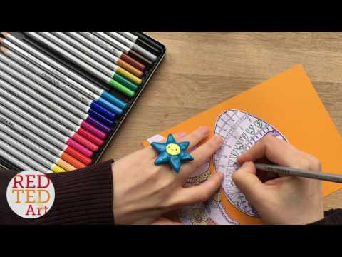3D Easter Card DIY - BONUS video WATCH ME COLOUR