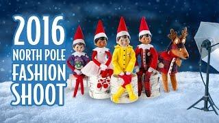 getlinkyoutube.com-Elf on the Shelf: 2016 North Pole Fashion Shoot