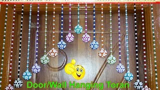 Exceptionnel DIY,Handmade Toran | How To Make Door/Wall Hangings At Home (Beaded