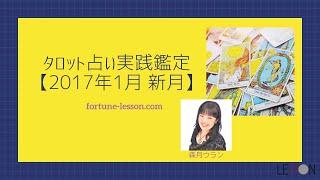 本格タロット実践鑑定【2017年1月新月占い】