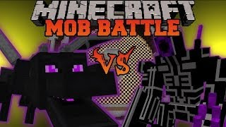 getlinkyoutube.com-ENDER DRAGON VS ROBO WARRIOR - Minecraft Mob Battles - OreSpawn and Vs Mobs Mods
