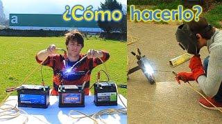 SOLDADOR de ELECTRODOS CASERO