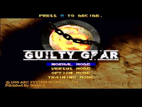 Guilty Gears (PS1) Music-Unidentified Child-May Theme