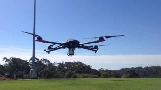getlinkyoutube.com-Testing 17 inch props on Tarot 650 Sport