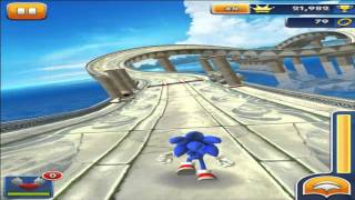 getlinkyoutube.com-Sonic Dash ipad Gameplay