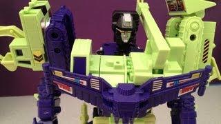 getlinkyoutube.com-TRANSFORMERS DEVASTATOR - G1 CONSTRUCTICONS VIDEO TOY REVIEW