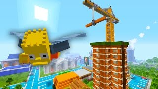 Bart Simpson Learns to Glide | The Simpsons | Minecraft Xbox [54]