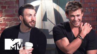 getlinkyoutube.com-'Avengers: Age Of Ultron' Cast Know Their Biceps | MTV News