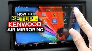 getlinkyoutube.com-Kenwood Air Mirroring -  How to setup