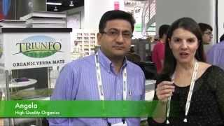 Expo West 2014: High Quality Organic\'s Yerba Mate