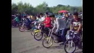 getlinkyoutube.com-NGO Street Drag Bike Party สนามบินราชบุรี