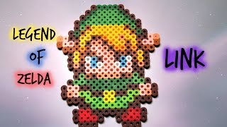 getlinkyoutube.com-Legend of Zelda Perler Bead Sprite Link