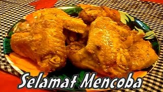 Resep dan Cara Memasak Ayam Goreng Bumbu Kuning