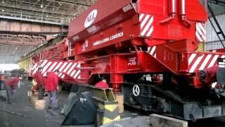getlinkyoutube.com-Grúa ferroviaria TAKRAF 011