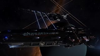 getlinkyoutube.com-Elite: Dangerous Imperial vs Federation Capital Ship