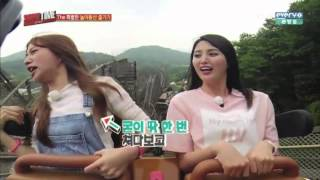 EXID Funny Clip #184- Roller Coaster You're Su..Such A Monster