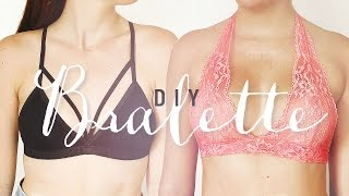 getlinkyoutube.com-DIY BRALETTE | EASY SEWING PROJECT | THE SORRY GIRLS