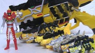 getlinkyoutube.com-파워레인저 다이노포스 가브리볼버 장난감 Power Rangers Dino Charge Toys đồ chơi Siêu Nhân