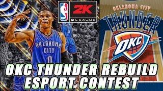 OKC Thunder Rebuild - NBA 2K17 eSPORT MY LEAGUE COMPETITION!