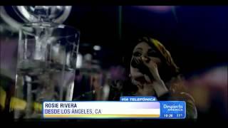 getlinkyoutube.com-Rosie Rivera llora al oir cantar a Jenni Rivera