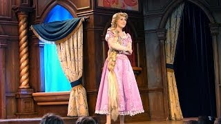 getlinkyoutube.com-FULL SHOW Funny Princess Rapunzel (Tangled) at the Royal Theatre at Disneyland California