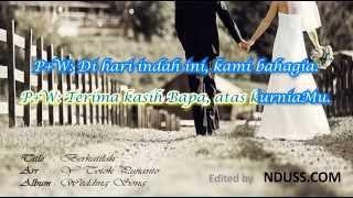 getlinkyoutube.com-Berkatilah - Totok Pujianto (Lagu Pernikahan Rohani + Lirik)