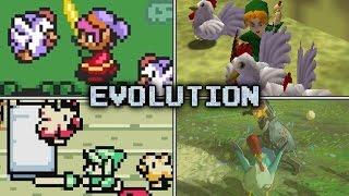 Evolution of Cucco Attacks & Revenge Squads in Zelda games (1991 - 2017)