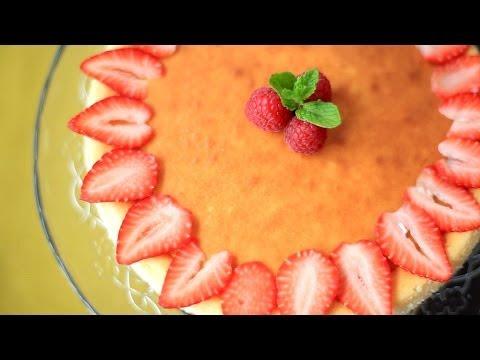 Cómo hacer cheesecake de limón (pastel de queso)