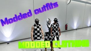 getlinkyoutube.com-GTA 5 online * Modded outfits * Showcase