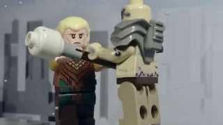 getlinkyoutube.com-LEGO Hobbit - Legolas vs. Bolg