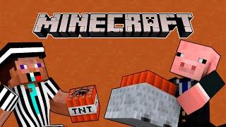 getlinkyoutube.com-Como trollear en Minecraft: TNT | Corto de Minecraft