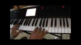 Con todo mi corazón Comando GAF tutorial piano