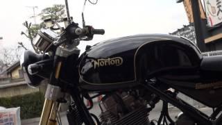 日本に15台のみ導入 2015 Norton Commando961SE 2015 ノートン コマンド961SE 世界限定200台のレアモデル
