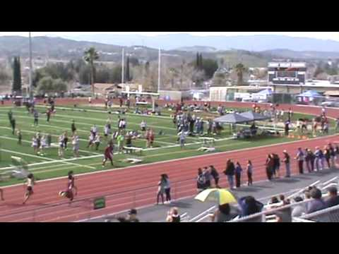 SCV Invitational: Girls 4 x 100