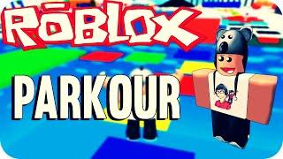 getlinkyoutube.com-Roblox - Parkour Colorido