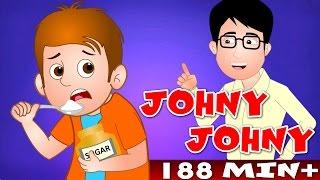 getlinkyoutube.com-Johny Johny Yes Papa and Many More | Top 100 Popular Nursery Rhyme Collection