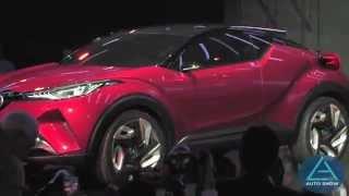 Scion's Next Icon: World Debut of C-HR Concept Car at Los Angeles Auto Show