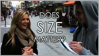 getlinkyoutube.com-Street Interviews - Does Size Matter?