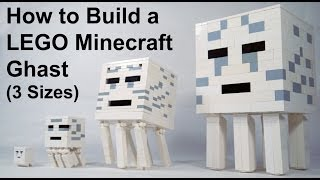 getlinkyoutube.com-How To Build: LEGO Minecraft Ghast
