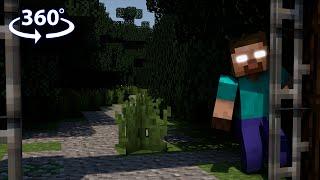 getlinkyoutube.com-Herobrine's Challenge - 360° Minecraft Roleplay