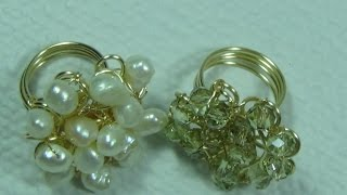 getlinkyoutube.com-Anillo con Cristales