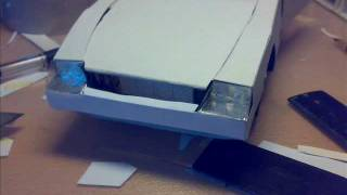 getlinkyoutube.com-бумажная модель кабриолета (cabrio paper model)