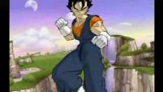getlinkyoutube.com-Dragon ball budokai 2 (fusion de goku y vegeta)