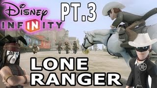 getlinkyoutube.com-Lone Ranger Gameplay pt. 3 - Disney Infinity w/ Mom & Dad