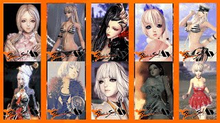 getlinkyoutube.com-Blade and Soul Character Customize Jin Female PACK#1
