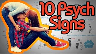getlinkyoutube.com-10 Psychological Signs a Girl Likes you - How to tell if she's attracted!