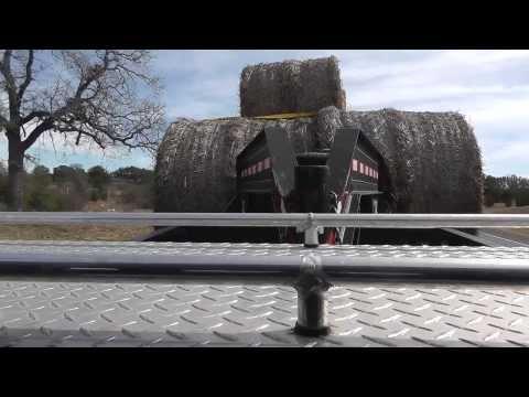 12 Valve Cummins Hauling Hay (rear view)