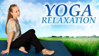 Relax & Sleep | Relaxation Stretches, Complete Beginners Yoga, How to Relieve Stress, ASMR