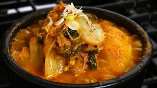getlinkyoutube.com-Pork bones soup (Gamjatang: 감자탕)